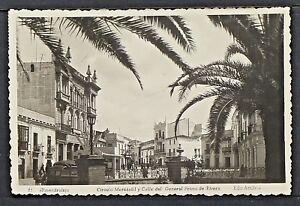 2991.-ALMENDRALEJO -Circulo Mercantil y Calle del General Primo de Rivera (Foto)