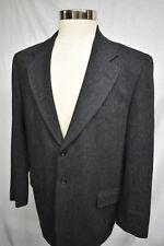 Gant The Blazer Herringbone Tweed Wool Three Button Sport Coat Jacket 44