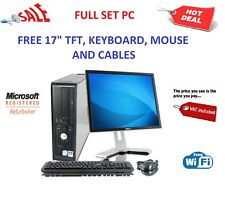 ULTRA FAST COMPUTER PC INTEL QUAD CORE 1TB 8GB WINDOWS 10 CHEAP OFFICE WITH TFT