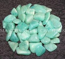 12 x Amazonite Tumblestones 12mm-15mm A Grade Crystal Gemstone Wholesale Bulk