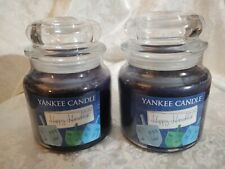 Yankee Candle Happy Hanukkah Set of 2 - Medium Jars 14.5 oz - NEW