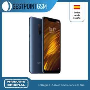 Smartphone Xiaomi Pocophone F1 128GB de memoria interna color steel blue - USADO