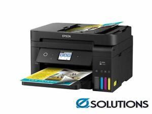 Epson WorkForce ET-4750 EcoTank All-In-One Inkjet Printer - C11CG19501