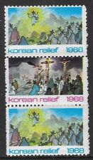 USA 1968 Poster stamps - KOREAN RELIEF Christmas Seals  - dw52d