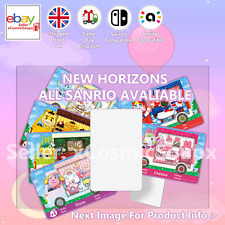 All Sanrio Animal Crossing Custom NFC Amiibo Compatible Card New Horizons