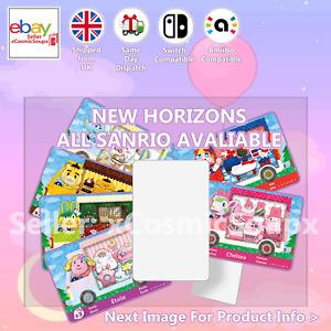 All Sanrio Animal Crossing Custom NFC Amiibo Compatible Card New Horizons