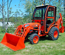 Complete Curtis Hard Sided Cab System Kubota B3200 Series Tractor