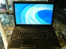 TOSHIBA SATELLITE PRO C650 LAPTOP IN BLACK / WINDOWS 7 / 250GB HDD / 2GB RAM