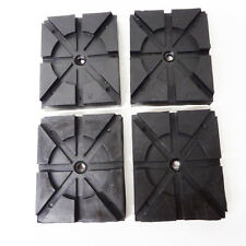 RECTANGLE RUBBER PADS  Wheeltronics Lift Ammco Lift Magnum Lift set of 4 pads HD
