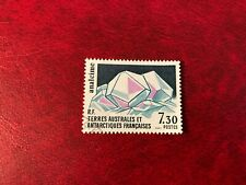 TAAF FSAT FRENCH ANTARCTIC 1989 USED MINERALS ANALCIME
