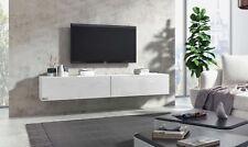 TV Board hängend Wohnwand Fernsehschrank Lowboard Hängeschrank Hochglanz Somero