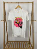 RARE VTG 80s Circle Jerks Band 50/50 Thin White Short Sleeve T-Shirt Size XL USA
