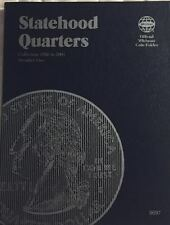 P & D STATEHOOD QUARTERS (1999-2009) 3 FOLDER SET W/ COIN COLLECTING GUIDE BOOK