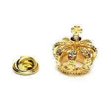 GOLDEN 3d CORONA bavero pin badge regali per lui