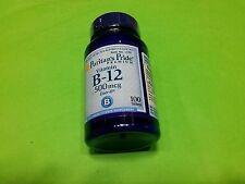 Vitamina B12 B-12 500 mcg 100 tabletas PURITAN´S PRIDE