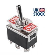 ON-ON Togle Switch 6A 250V KN3(C)-202  ON-ON DPDT 6P HQ   (UK STOCK)