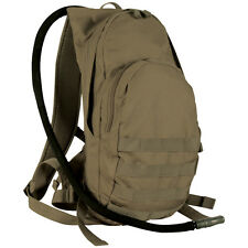 Army Coyote Tan Khaki Hydration Backpack Camelback w Bladder Fits a tablet Pack