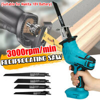Cordless Electric Reciprocating Saw Outside Saber Cutting For Makita Battery