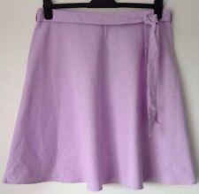 M&S Collection Linen Blend Skirt Size 16 Bnwt