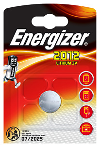 1 x CR-Typ 2012 Energizer Lithium 1er Blister 3,0 Volt Stilo Knopfzelle
