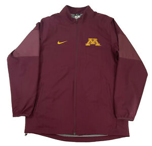 Nike Dri-fit Men's Large Track Jacket University of Minnesota