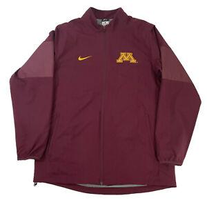 Nike Dri-fit Men's Large Track Jacket University of Minnesota