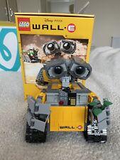 WALL-E DISNEY PIXAR LEGO IDEA 21303 MISB NUOVO SIGILLATO RARO