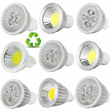 Dimmable B22 GU10 MR16 GU5.3 6W 9W 12W 15W LED Spot Light Bulb COB/Epistar Lamp