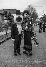 """THE RESIDENTS on Mardi Gras, Avant Garde 13x19"""" SIGNED PRINT by Louis Maistros"""