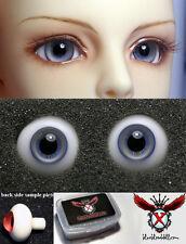 1/3 1/4 1/6 bjd 16mm beige blue high quality glass doll eyes dollfie M-11 shipUS