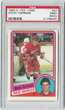 1984 Steve Yzerman O-Pee-Chee OPC #67 PSA Mint 9(OC) Hockey Card - Rookie