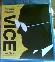 VICE [BLURAY+DVD DISCS With SLIPCOVER, NO DIGITAL, Like New
