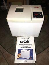 brotbackautomat le caf