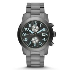 NEW MARC JACOBS MBM5051 LARRY BLACK DIAL GUNMETAL STAINLESS STEEL MENS WATCH