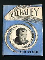 Bill Haley & His Comets 1957 European Tour Rare Souvenir Programme