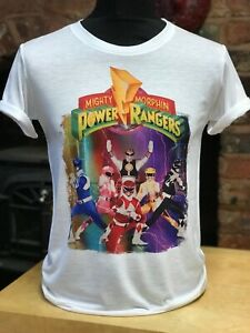 Mighty Morphin Power Rangers t-shirt - Mens & Women's sizes S-XXL - Tommy retro