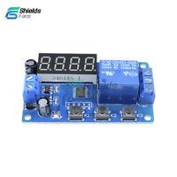 DC 12V LED Display Digital Delay Timer Control Switch Module PLC Automation