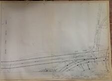 1964 Nyc World'S Fair Composite Utilities Plan Blueprint U-10 Queens Ny
