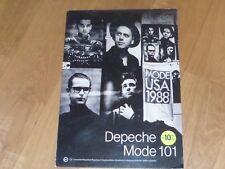Depeche Mode -101 !!! RARE FRENCH PLV / CARDBOARD DISPLAY !!!!