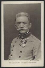 3963a❚ original Postkarte, Generalstabschef Conrad von Hötzendorf