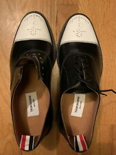 Thom Browne Two Tone Cap Brogue Shoes Size 9.5