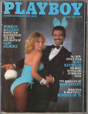 PLAYBOY October 1979-Bunnies of 1979,Burt Reynolds Intvw, Gary Gilmore by Mailer