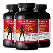 Sex Vigor Pills - Women's Support Complex 1256mg - Chasteberry Red Clover 3B