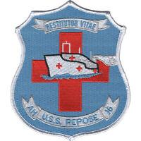 USS Repose AH-16 Hospital Ship Patch