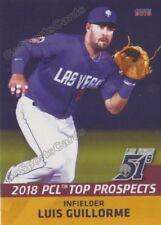2018 Pacific Coast League Top Prospects PCL Luis Guillorme RC Rookie Mets