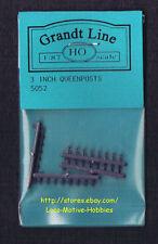 "LMH Grandt Line 5051  QUEENPOSTS 5"" Queen Post Narrow Gauge  HOn3 HOn30 HO  32pc"