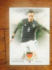 2016 Futera Unique Soccer Card - Germany MEZUT OZIL Mint