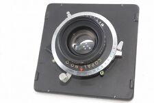 Schneider Symmar S 100mm Lens f/5.6 f 5.6 W/copal No,0 Board *12624699