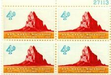 8 BLOCKS (32) 4 CENT U.S. POSTAGE STAMPS 1962 NEW MEXICO STATE HOOD 1912-1962