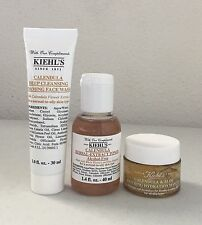 Kiehl's Calendula Trio Set: Deep Cleansing Foaming Face Wash, Toner and Masque